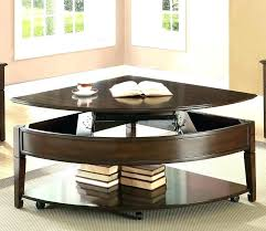 pie shaped lift top coffee table pie shaped lift top coffee table coffee table cover walmart coffee