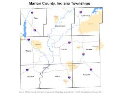 Indiana State Map Township Maps Stats Indiana