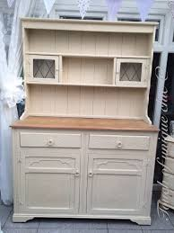 welsh dresser painted in annie sloan old ochre diy painting