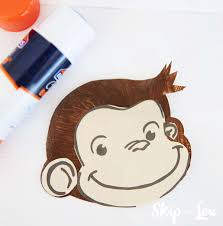 curious george handprint monkey craft skip to my lou