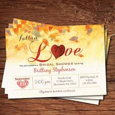 fall bridal shower ideas fall in bridal shower invitations dhavalthakur