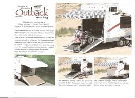 Colorado Carefree Awnings Outback Awning By Carefree Zn0102f Checkered Flag Print