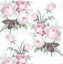 serviette en papier vintage serviettes papier roses anglaises passioncreationcollection