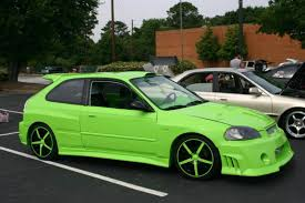 honda civic hatchback modified 1996 honda civic information and photos zombiedrive