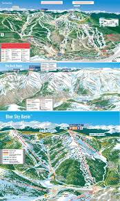 Vail Colorado Map by Vail Trail Map U2022 Piste Map U2022 Panoramic Mountain Map