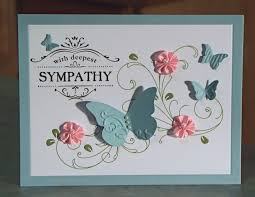 sympathy card ideas 28 images handmade sympathy card stin up