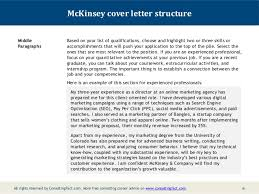 Mckinsey Resume Amazing Idea Consulting Cover Letter Sample 9 Mckinsey Cv Resume