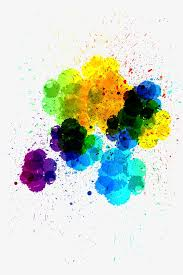 paint splash colorful ink brush png and vector for free download