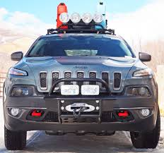 2016 jeep cherokee sport lifted jeep cherokee 2014 and newer bumper kit and winch kits cherokee