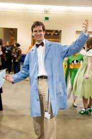 Bow Tie Halloween Costumes Thinking Bill Nye Pencil Skirt Bow Tie Blue Lab Coat
