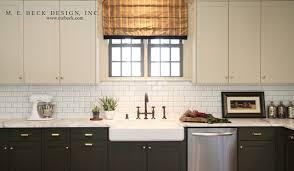 2 tone kitchen transitional kitchen m e beck design