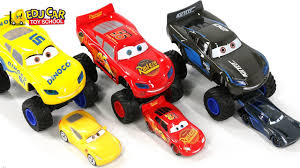 learning color special monster disney pixar cars lightning mcqueen