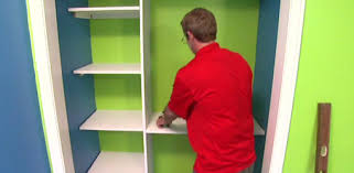 Build A Wood Shelving Unit by How To Build Closet Shelving For Your Home Today U0027s Homeowner