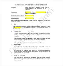 agreement format between consultant and client best resumes
