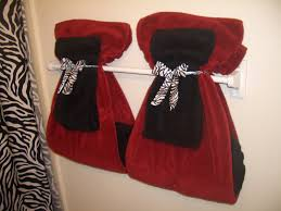 bathroom towel decorating ideas christmas lights decoration shorts towels and bread
