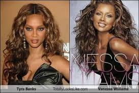Tyra Banks Meme - tyra banks totally looks like vanessa williams cheezburger