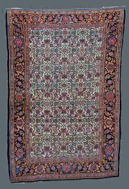 Bidjar Persian Rugs by Antique Bidjar Rug Circa 1880 Ivory Field U0026 Herati Design