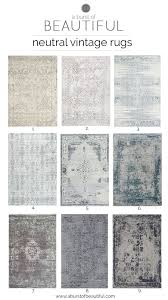 Neutral Area Rugs Neutral Vintage Area Rugs Neutral Spaces And Easy
