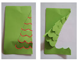 pop up christmas tree card tutorial for kids imagine forest