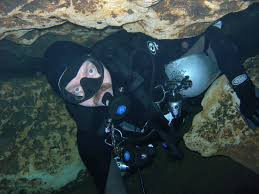 Utah snorkeling images Wendell nope cave diving page gif