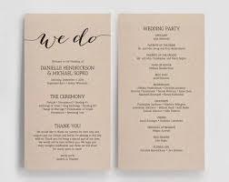 wedding reception programs 15 steps to your wedding reception lilianchinago