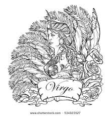 virgo tattoo stock images royalty free images u0026 vectors
