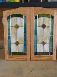 cabinet door glass inserts cincinnati replacing kitchen panels