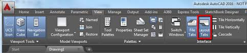 layout en autocad 2015 model and layout tabs not showing in autocad autocad autodesk