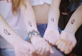 best friend tattoos ideas matching friendship tattoo symbols