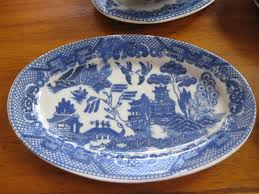 blue willow children dishes for sale antiques classifieds