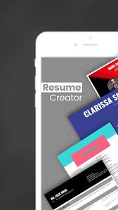 Resume Designer App Resume Creator Pro Cv Designer On The App Store