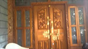 home front door kerala style beautiful front door for house youtube