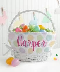 personalized wicker easter baskets personalized planet white pink wicker personalized easter basket