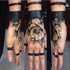 best 25 black work tattoo ideas on pinterest luck tattoo