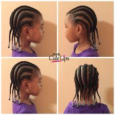hairstlye of straight back natural hairstyles for kids mimicutelips