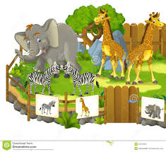 kids at zoo clipart clipartxtras