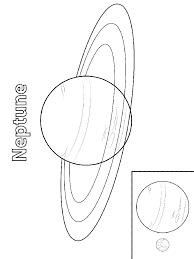 neptune planet coloring pages okuloncesi preschool