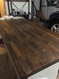 how to finish a table top with polyurethane question i just finished applying minwax wood finish walnut stain