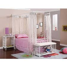Canopy Bedding Powell Canopy Wrought Iron Princess Bed Colors