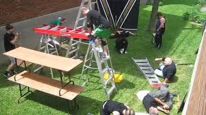 10 man genie in the lamp ladder match chw backyard wrestling