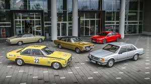 opel christmas opel commodore celebrates 50 years