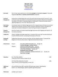 Example Work Resume by Resume Example General Resume Objective Examples Basic Resume