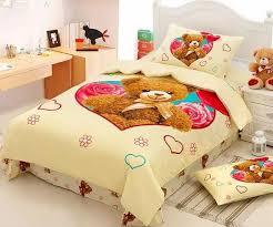 Bedding Set Teddy Bedding Set Duvet Cover Bed In A Bag Sheet