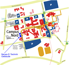Dortmund Germany Map by High Frequency Institute Dortmund University Of Technology