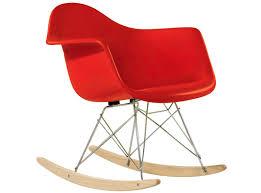 eames rar rocking chair fiberglass platinum replica trends
