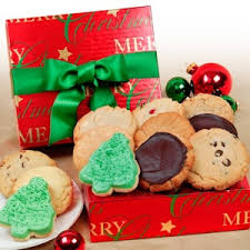 merry cookie box gift gourmet cookie bouquets