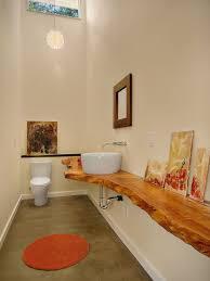 wood slab vanity picture design ideas furniture