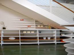 shelving for small spaces small space under stairs ideas under