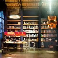 bureau style anglais bureau verrière suspensions design bibliothéque bureau
