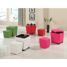 armen living contemporary storage ottoman with tray free